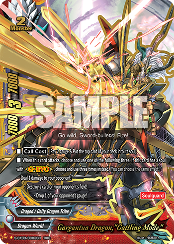 Buddyfight English PR//0005EN PROMO Lightning Strike Dragon Garjion